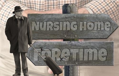 Le départ en maison de retraite