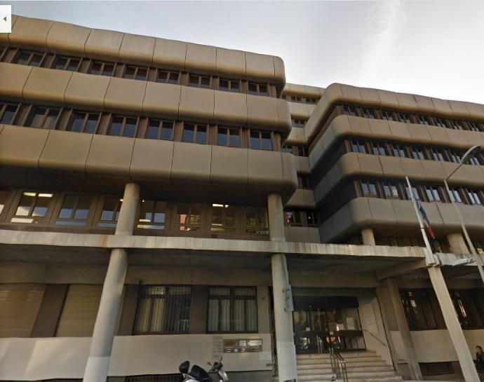 La Direction Régionale des Finances Publiques (DRFiP) située rue Borde à Marseille